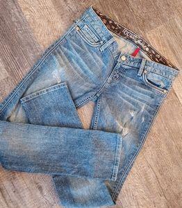 Guess foxy straight leg jeans